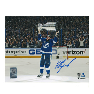 ANDREI VASILEVSKIY Signed Tampa Bay Lightning 8 X 10 Photo - 70310