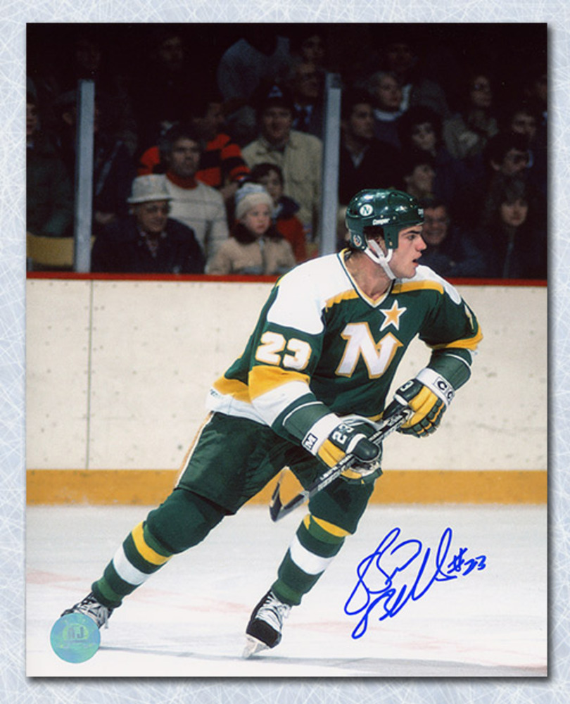 Brian Bellows Minnesota North Stars Autographed 8x10 Photo