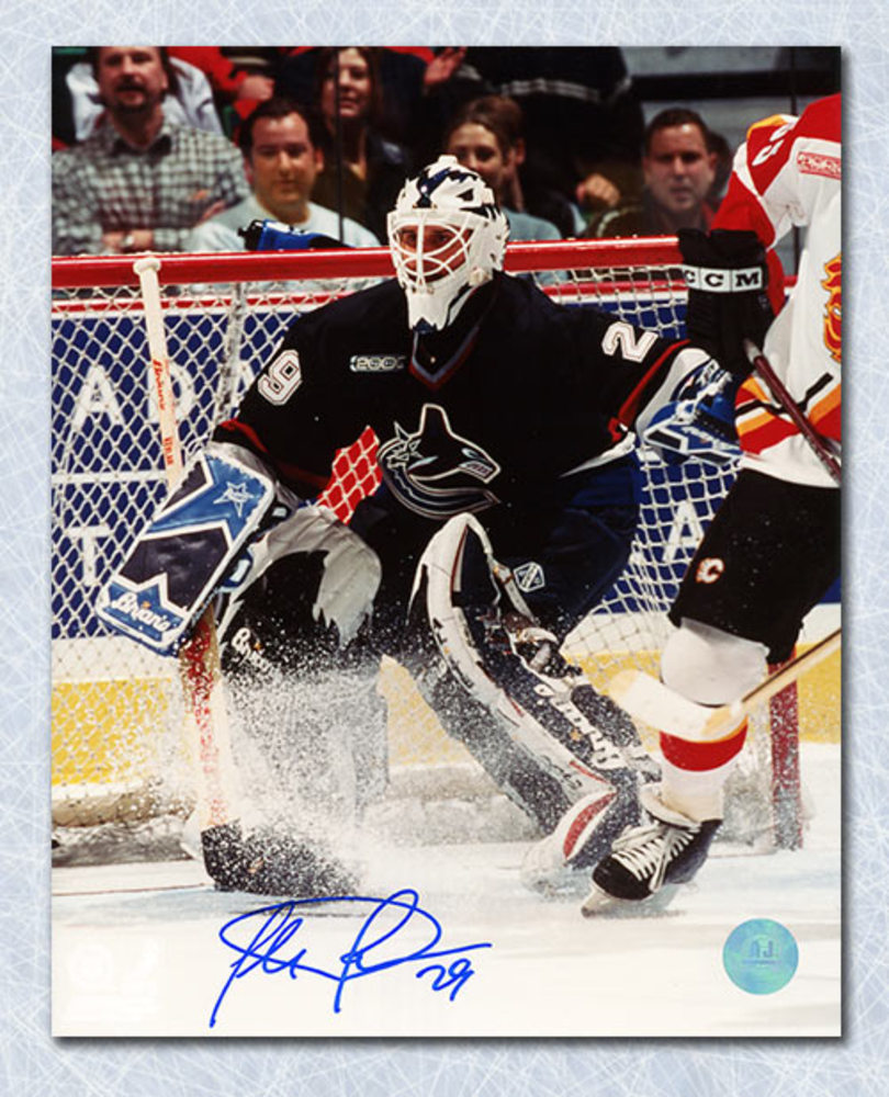 Felix Potvin Vancouver Canucks Autographed 8x10 Photo