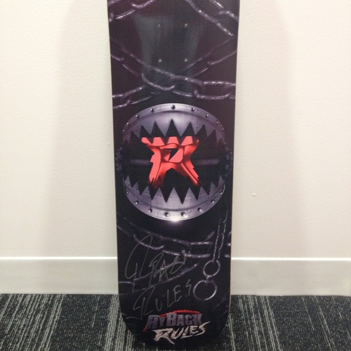 Ryback SIGNED Skateboard Deck
