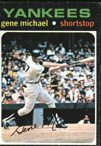 Photo of 1971 Topps #483 Gene Michael