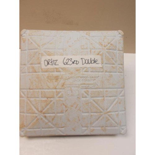 Photo of Game-Used Base: David Ortiz 623rd Double