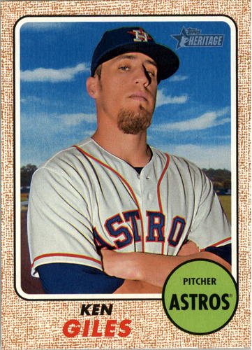 Photo of 2017 Topps Heritage #259 Ken Giles