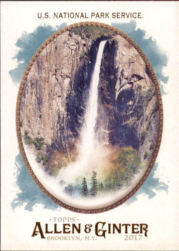 Photo of 2017 Topps Allen and Ginter #224 U.S. National Park Service