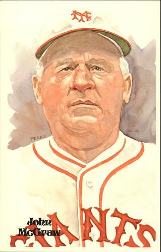 Photo of 1980-02 Perez-Steele Hall of Fame Postcards #10 John McGraw -- Set #08689