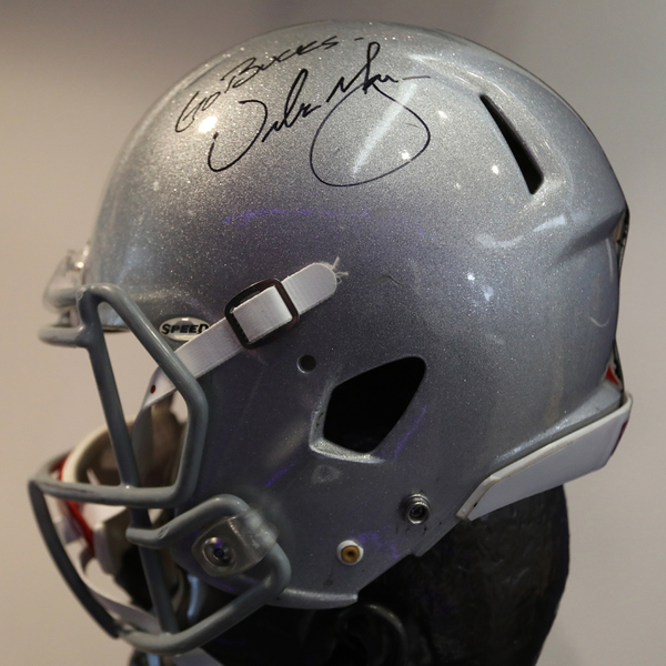 Ohio State Autographed Full-Size Football Helmet