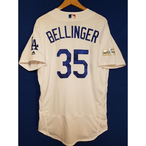 Photo of Cody Bellinger Home 2017 Team-Issued Post Season Jersey