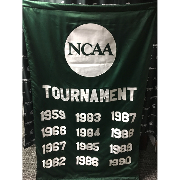 Authentic Michigan State Hockey NCAA Tournament Banners