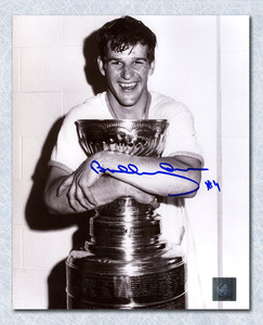Bobby Orr Boston Bruins Autographed Stanley Cup Champion 8x10 Photo: GNR COA