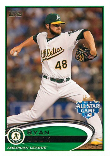 Photo of 2012 Topps Update #US279 Ryan Cook RC