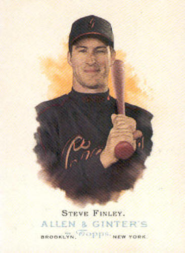 Photo of 2006 Topps Allen and Ginter #86 Steve Finley