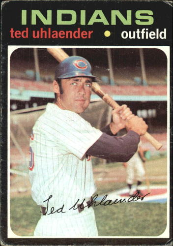 Photo of 1971 Topps #347 Ted Uhlaender