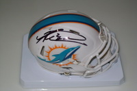 DOLPHINS  - KNOWSHON MORENO SIGNED DOLPHINS MINI HELMET
