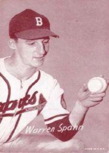 Photo of 1947-66 Exhibits #214A Warren Spahn/Boston
