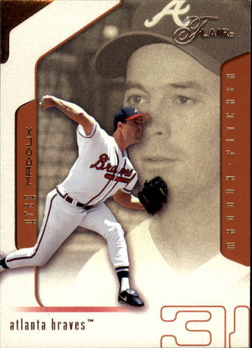 Photo of 2002 Flair #8 Greg Maddux