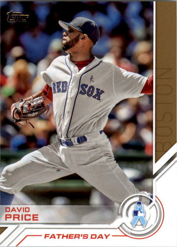 Photo of 2017 Topps Salute #S10 David Price