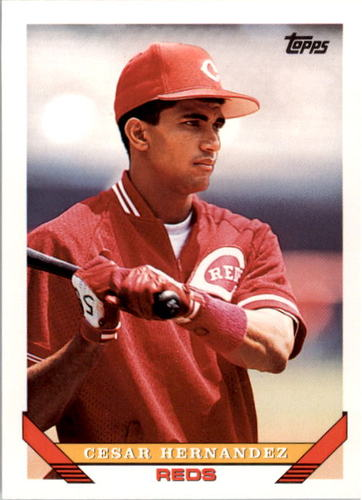 Photo of 1993 Topps #301 Cesar Hernandez
