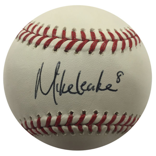 Photo of Cardinals Authentics: Mike Leake Autographed Baseball