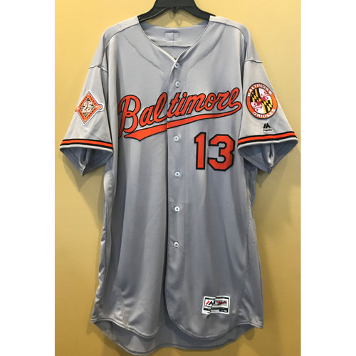 Photo of Manny Machado - 2017 25th Anniversary Jersey: Team-Issued