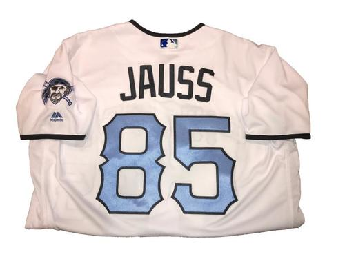 Photo of Dave Jauss (Coach) Game-Used Father's Day Weekend Jersey - Worn on 6/17 & 6/18