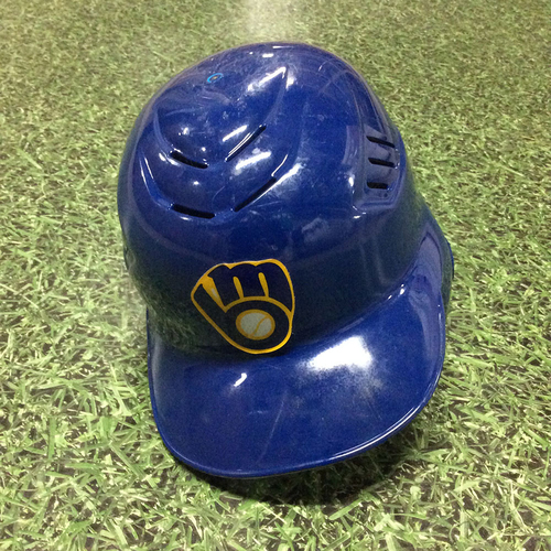 Photo of Alcides Escobar Team-Issued 2010 Retro Batting Helmet