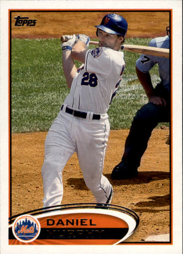 Photo of 2012 Topps #380 Daniel Murphy