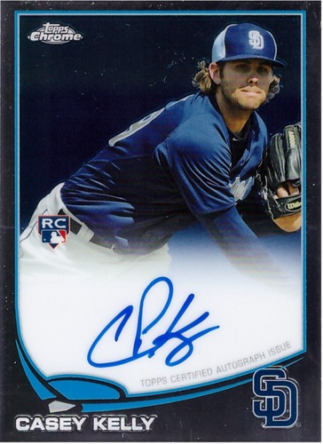 Photo of 2013 Topps Chrome Rookie Autographs #105 Casey Kelly