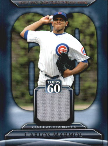 Photo of 2011 Topps 60 Relics #CM Carlos Marmol S2