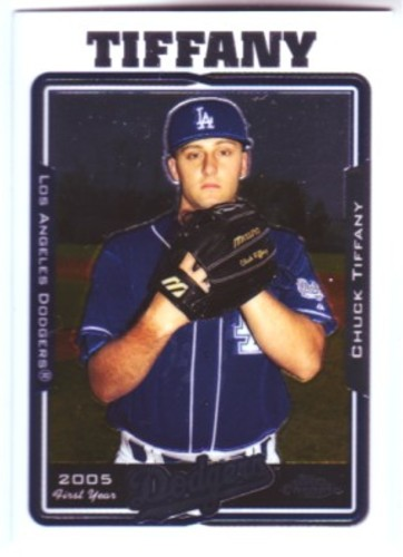 Photo of 2005 Topps Chrome Update #116 Chuck Tiffany FY RC