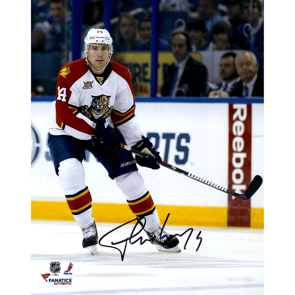 Tomas Fleischmann Florida Panthers Autographed 8'' x 10'' Vertical With Photograph