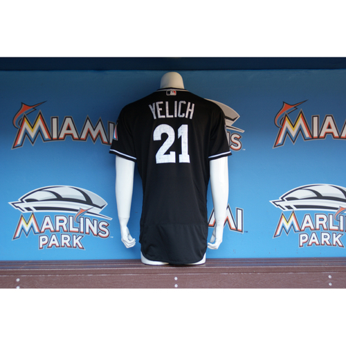 Photo of Christian Yelich Spring Training Jersey