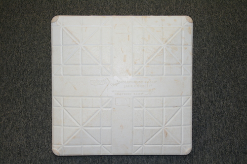 Photo of BLUE JAYS AUTHENTICS-2015 Game Used Base from August 3rd - David Price Blue Jays Debut -  HZ 830257