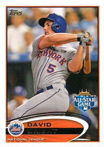 Photo of 2012 Topps Update #US280A David Wright