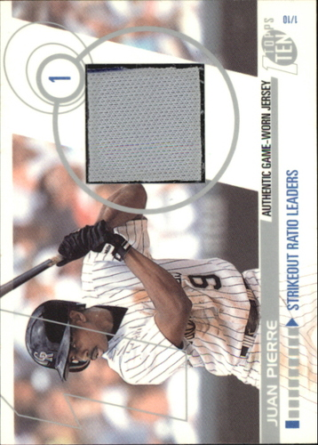 Photo of 2002 Topps Ten Relics #TTRJP Juan Pierre Jsy A