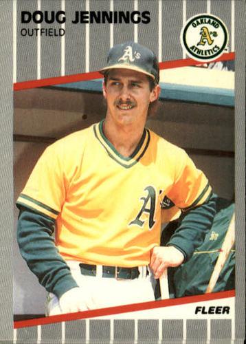 Photo of 1989 Fleer #14 Doug Jennings RC