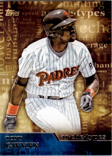 Photo of 2015 Topps Archetypes #A17 Tony Gwynn