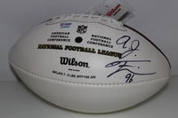 DOLPHINS - A.J. FRANCIS SIGNED PANEL BALL