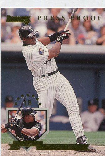Photo of 1995 Donruss Press Proofs #275 Frank Thomas