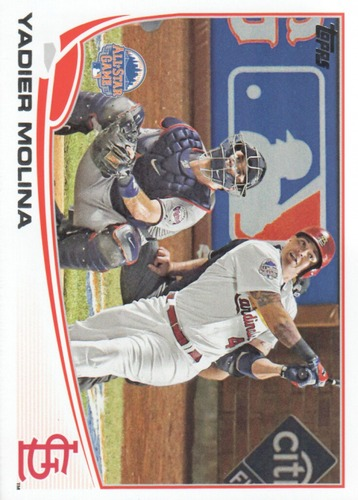 Photo of 2013 Topps Update #US142A Yadier Molina