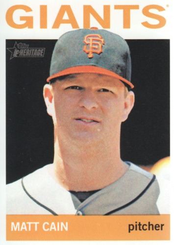 Photo of 2013 Topps Heritage #350 Matt Cain