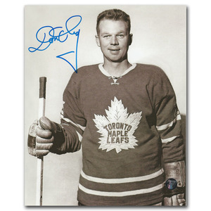 Don Cherry Autographed Toronto Maple Leafs 8X10 Photo