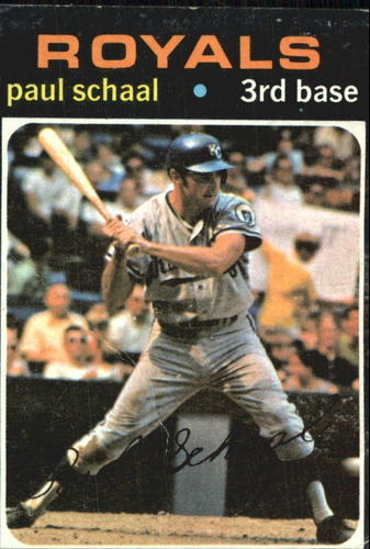 Photo of 1971 Topps #487 Paul Schaal