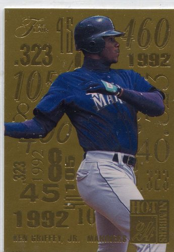 Photo of 1995 Flair Hot Numbers #4 Ken Griffey Jr.