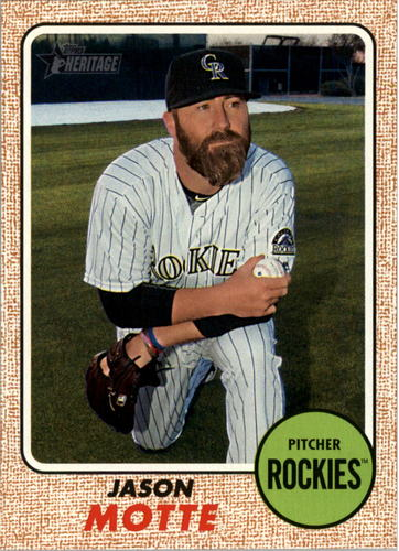 Photo of 2017 Topps Heritage #277 Jason Motte