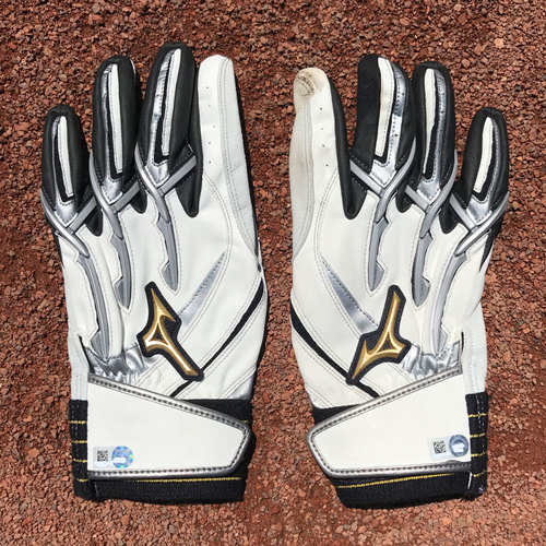 San Francisco Giants - Player Collected Batting Gloves - Nori Aoki