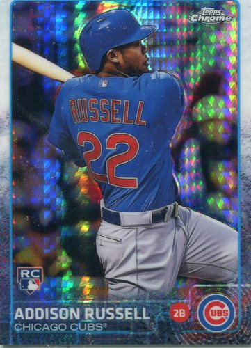 Photo of 2015 Topps Chrome Prism Refractors #24 Addison Russell