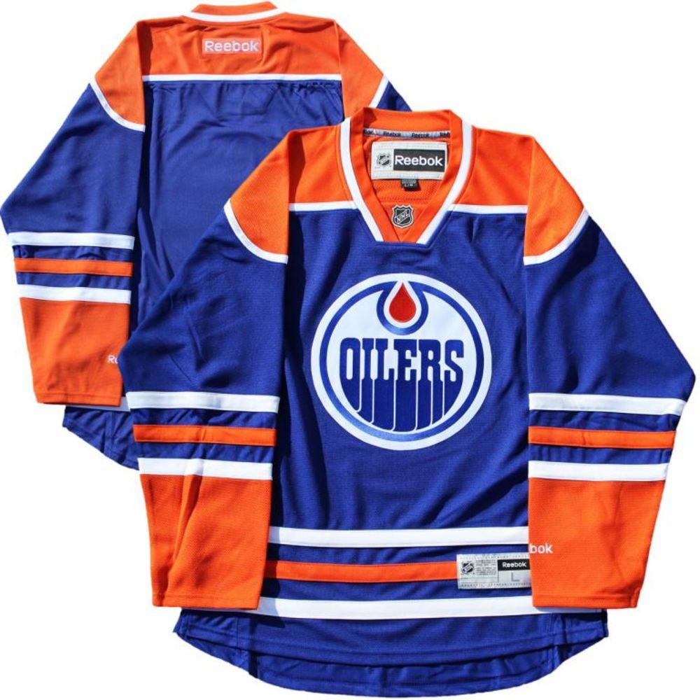 Edmonton Oilers - Blue 2016-2017 Season Reebok Jersey (Size L)