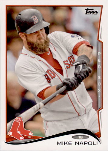 Photo of 2014 Topps #473A Mike Napoli