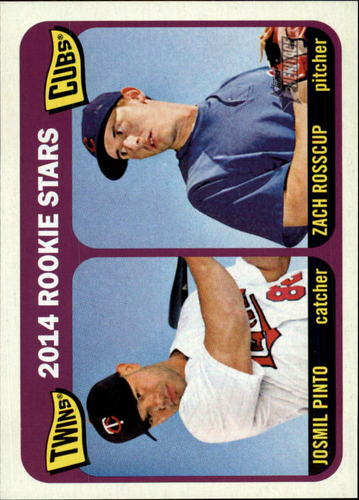 Photo of 2014 Topps Heritage #201 Zach Rosscup RC/Josmil Pinto RC