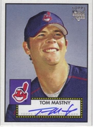 Photo of 2006 Topps 52 Signatures #TM Tom Mastny J